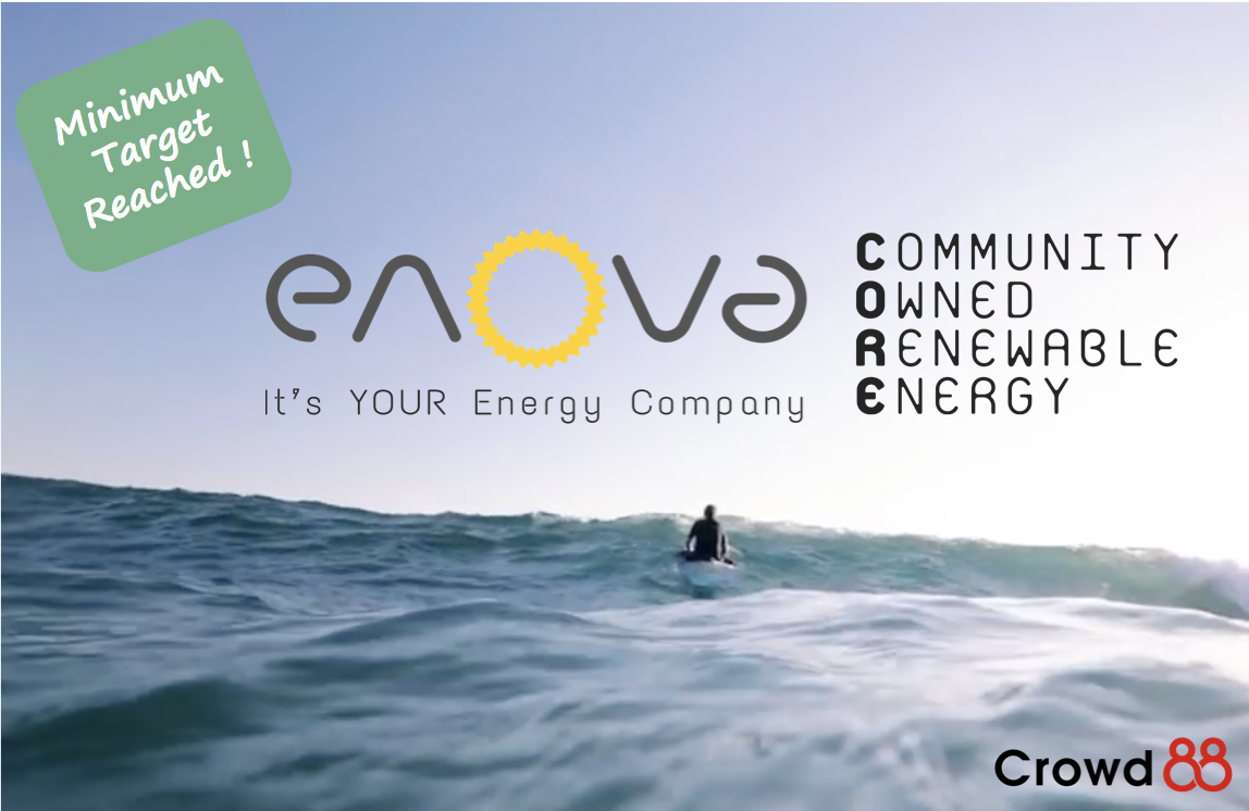 Enova Energy hits Minimum target!